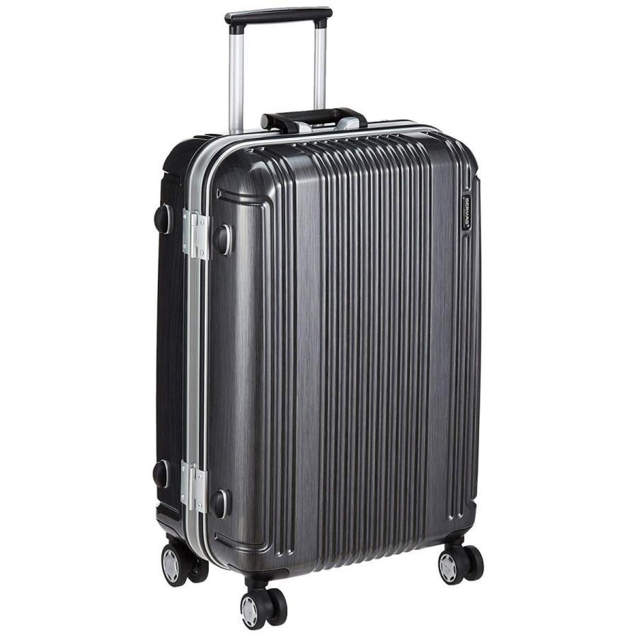 バーマス スーツケース プレステージ2 縦型 4輪 52L 4.1kg 無料受託手荷物対応サイズ 65 cm ブラック