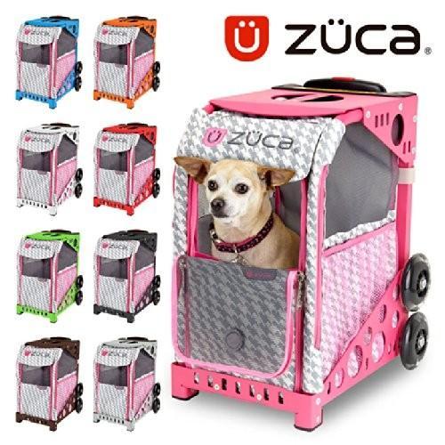 (ズーカ)ZUCA ZuZUCA ペット キャリーバッグ Houndtooth Pink 150102 HotPink