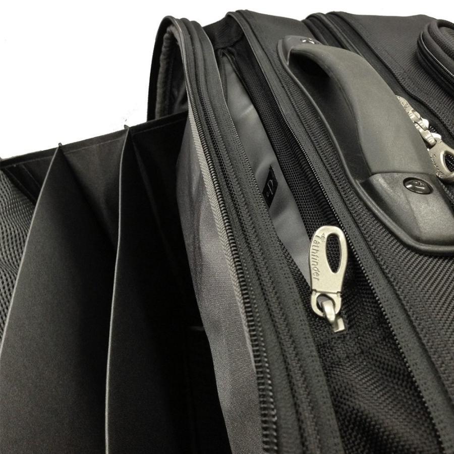 パスファインダー ビジネスキャリー レボリューションXT 横型 2輪 機内持込可 37.5cm 3.7kg PF6877 10ブラック -