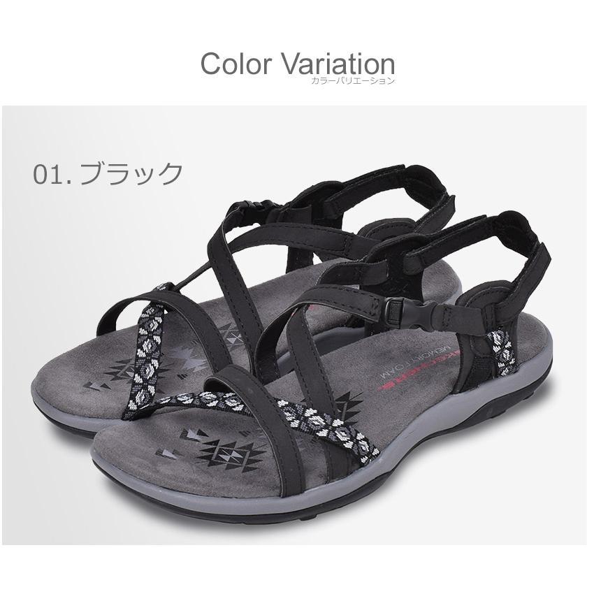 スケッチャーズ サンダル レディース レゲエ スリム ヴァケイ SKECHERS 40955 ブラック 黒 ブラウン グレー 靴 シューズ ビーチ z-craft 02