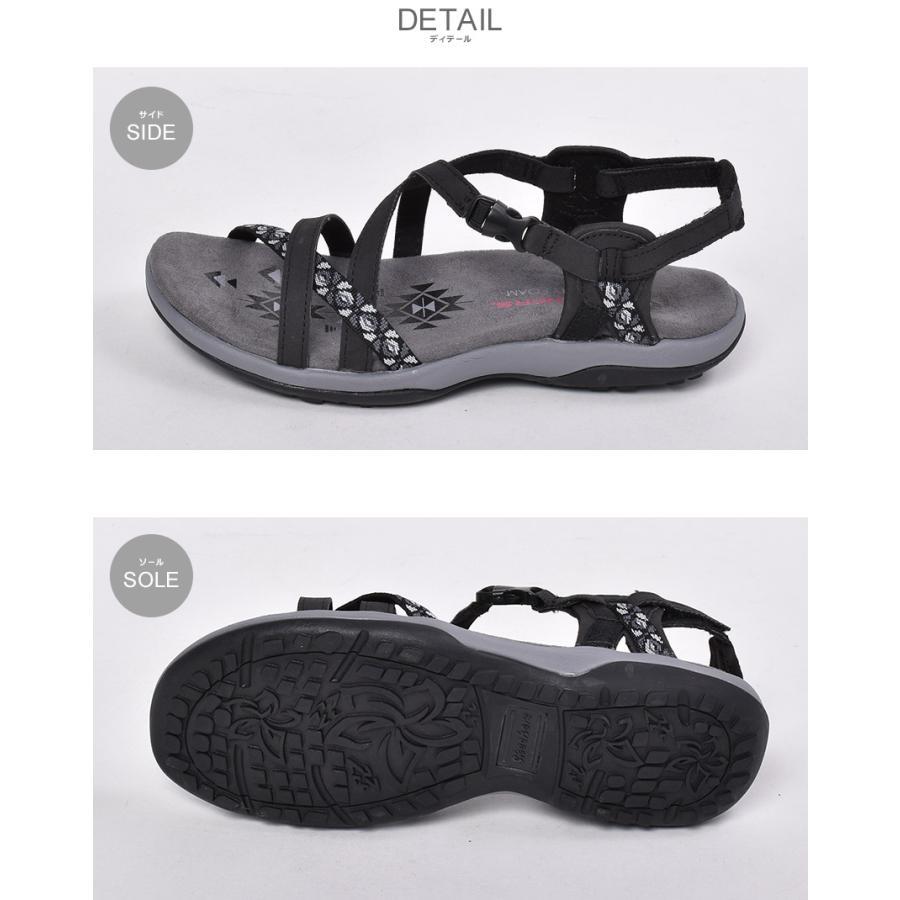 スケッチャーズ サンダル レディース レゲエ スリム ヴァケイ SKECHERS 40955 ブラック 黒 ブラウン グレー 靴 シューズ ビーチ z-craft 04