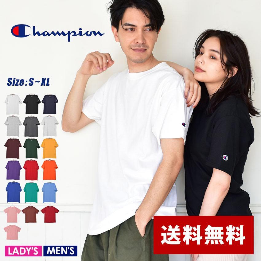 チャンピオン Tシャツ メンズ レディース ADULT 6oz SHORT SLEEVE TEE CHAMPION T425 ブラック 黒 ホワイト 白 グレー レッド|z-craft