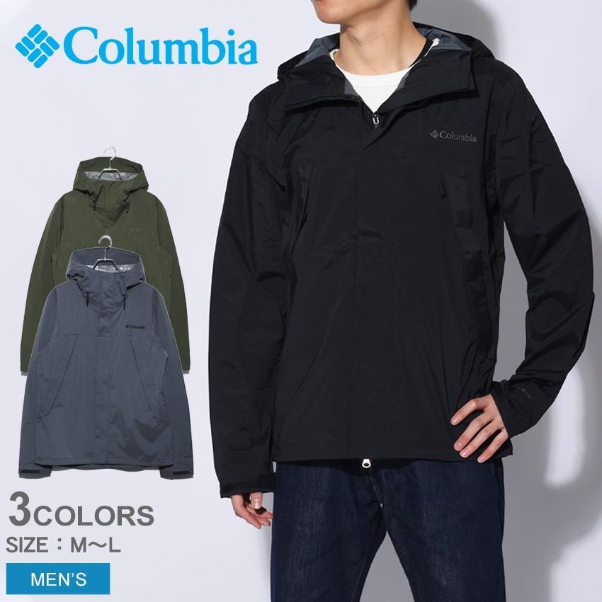 (10%以上OFF) コロンビア ジャケット メンズ ワバシュ II COLUMBIA PM5741 ブラック 黒 グリーン キャンプ フェス 野外 ハイキング 新生活|z-craft