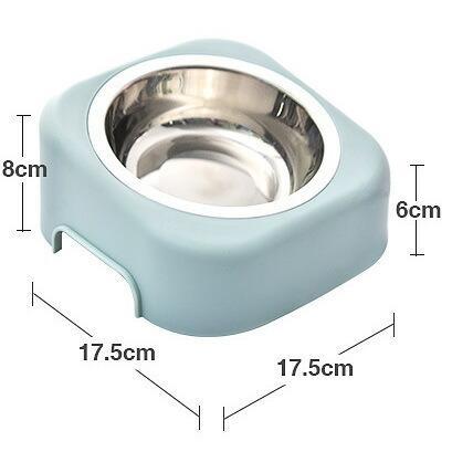 猫 フードボウル 猫 えさ 皿 小型犬用 食器 ステンレス ダイニング フードボール ペット食器|z-fashion|03