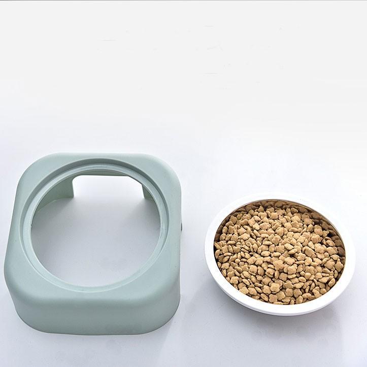 猫 フードボウル 猫 えさ 皿 小型犬用 食器 ステンレス ダイニング フードボール ペット食器|z-fashion|05