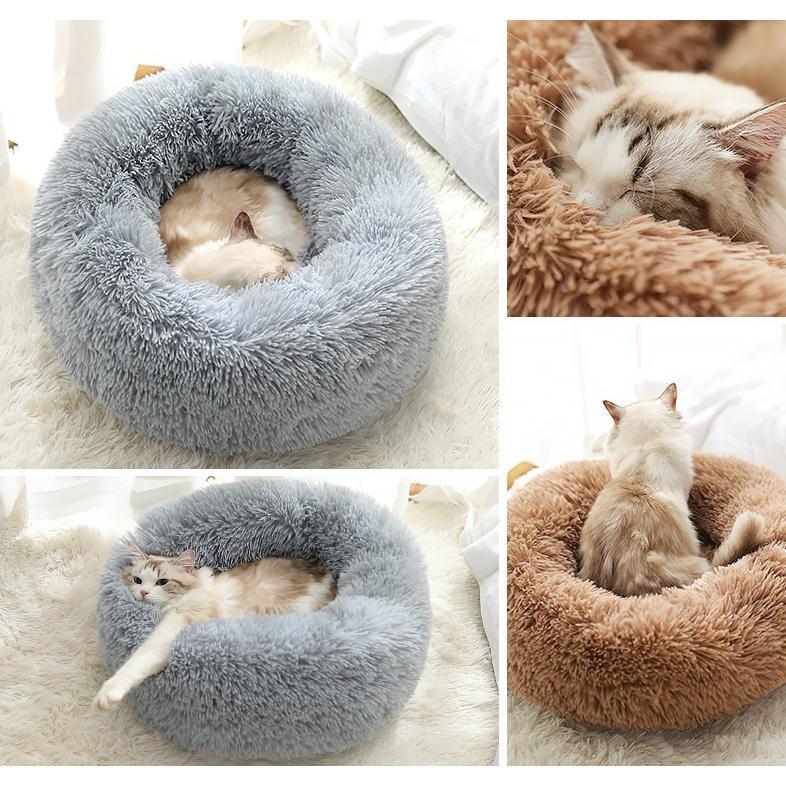 猫ベッド 冬 防寒 ペットベッド 寝床 猫 クッション ペット用品 ネコ ベッド 室内 あったか おしゃれ 犬ベッド 小型犬 保温 四季|z-fashion|02