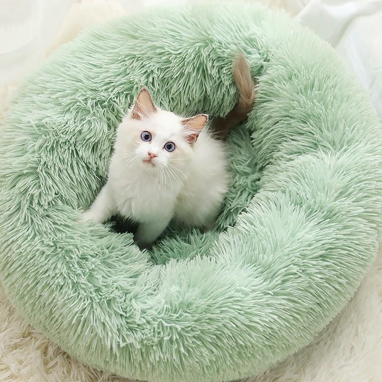 猫ベッド 冬 防寒 ペットベッド 寝床 猫 クッション ペット用品 ネコ ベッド 室内 あったか おしゃれ 犬ベッド 小型犬 保温 四季|z-fashion|06