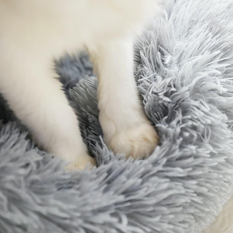 猫ベッド 冬 防寒 ペットベッド 寝床 猫 クッション ペット用品 ネコ ベッド 室内 あったか おしゃれ 犬ベッド 小型犬 保温 四季|z-fashion|07
