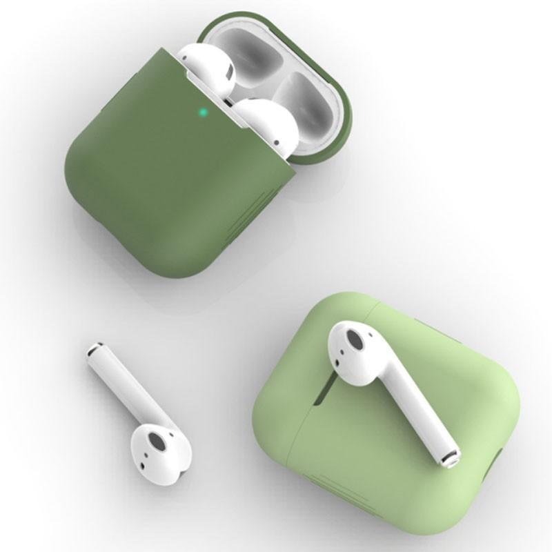 イヤホンケース AirPods 2 ケース カバー シリコン APPLE アップル イヤホン AirPods1 収納カバー 収納ケース|z-fashion|02