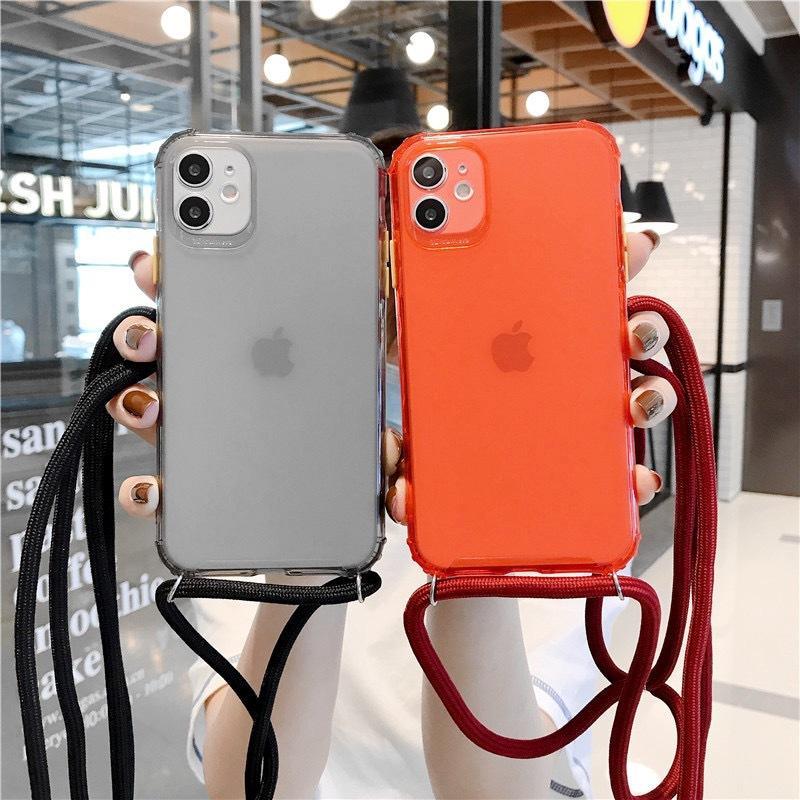 スマホケース ショルダー 肩掛け おしゃれ アイフォン ストラップ付き ネックストラップ 首掛け iPhoneケース スマホ 携帯カバー|z-fashion|02