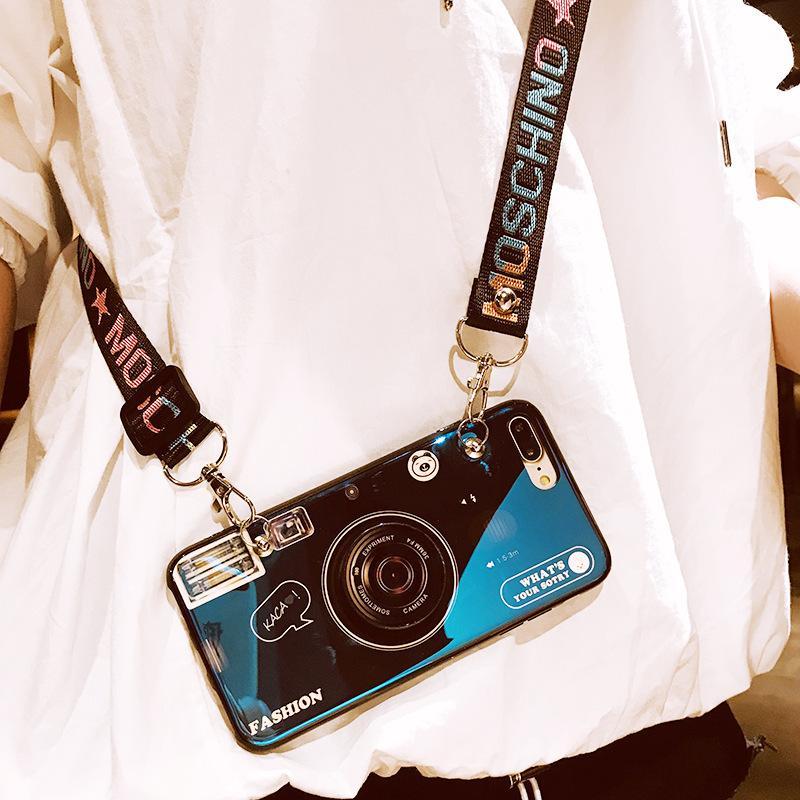 スマホケース ショルダー 肩掛け おしゃれ アイフォン ストラップ付き ネックストラップ 首掛け iPhoneケース スマホ 携帯カバー|z-fashion|06
