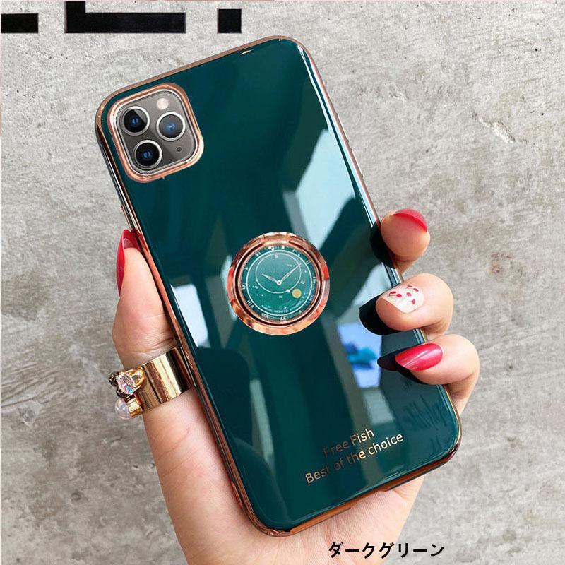 スマホケース iPhone11 SE ケース リング付き iPhone12 携帯 ケース iPhone7 スマホ XS XR iPhoneケース キラキラ|z-fashion|03