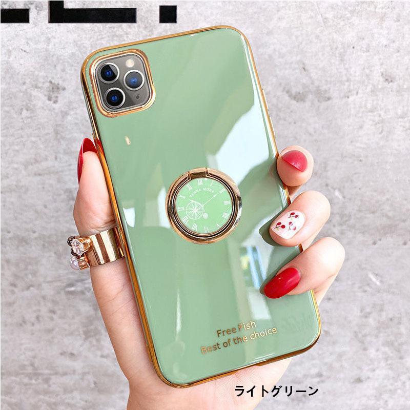 スマホケース iPhone11 SE ケース リング付き iPhone12 携帯 ケース iPhone7 スマホ XS XR iPhoneケース キラキラ|z-fashion|05