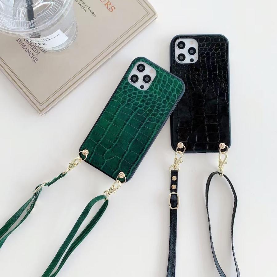 スマホケース iphone12 Pro Max 首掛け 可愛い アイフォン12 プロ マックス ストラップ付き 落下防止 カバー|z-fashion|02