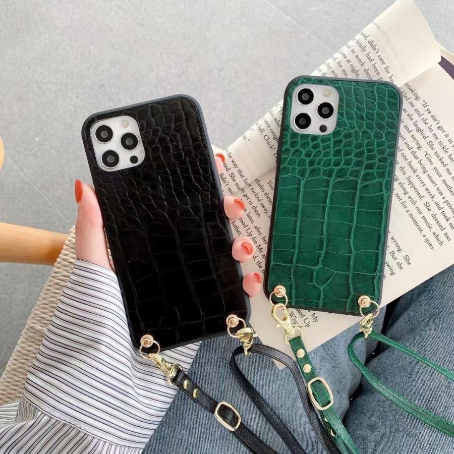 スマホケース iphone12 Pro Max 首掛け 可愛い アイフォン12 プロ マックス ストラップ付き 落下防止 カバー|z-fashion|03