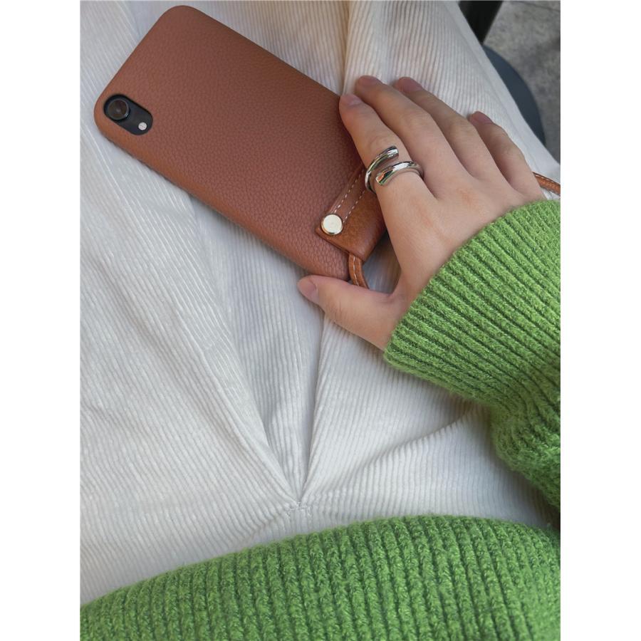 スマホケース カバー iphone12 Pro Max 首掛け 合皮 アイフォン12 iphone11 プロ マックス ストラップ付き 落下防止 カバー|z-fashion|03