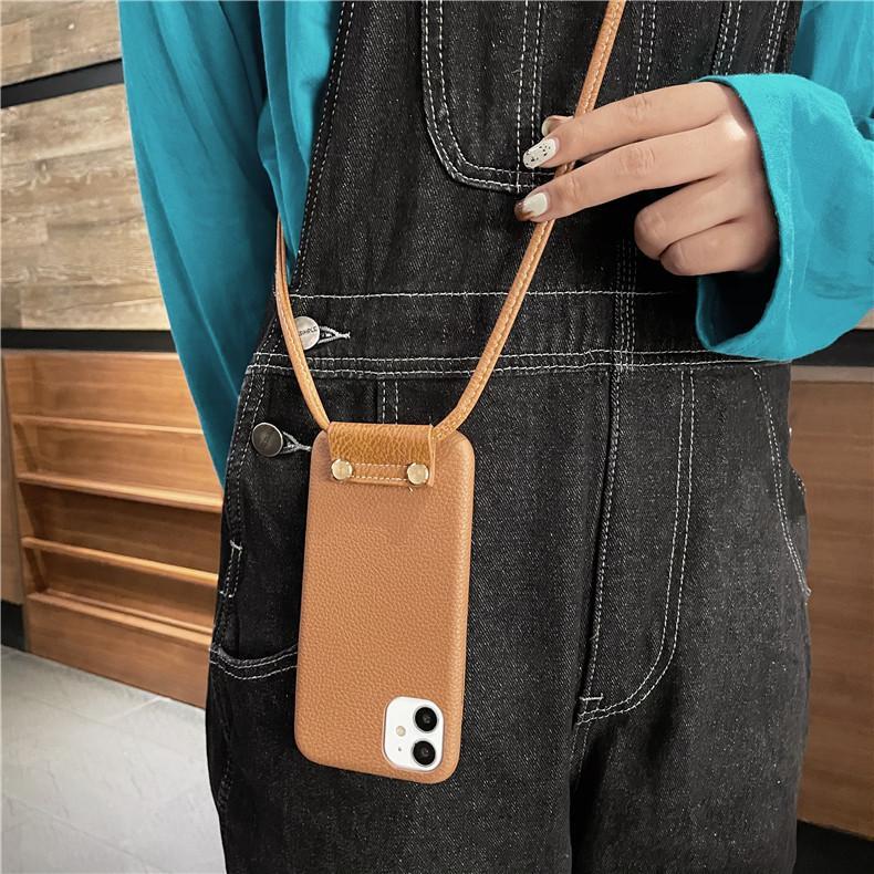 スマホケース カバー iphone12 Pro Max 首掛け 合皮 アイフォン12 iphone11 プロ マックス ストラップ付き 落下防止 カバー|z-fashion|04