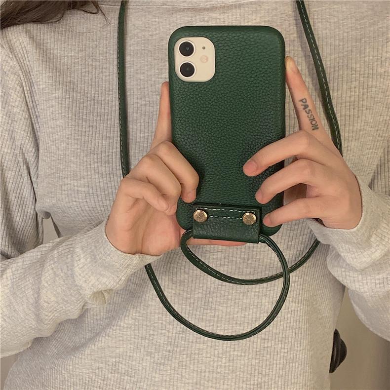 スマホケース カバー iphone12 Pro Max 首掛け 合皮 アイフォン12 iphone11 プロ マックス ストラップ付き 落下防止 カバー|z-fashion|05