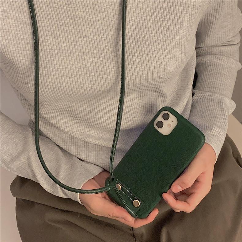 スマホケース カバー iphone12 Pro Max 首掛け 合皮 アイフォン12 iphone11 プロ マックス ストラップ付き 落下防止 カバー|z-fashion|06
