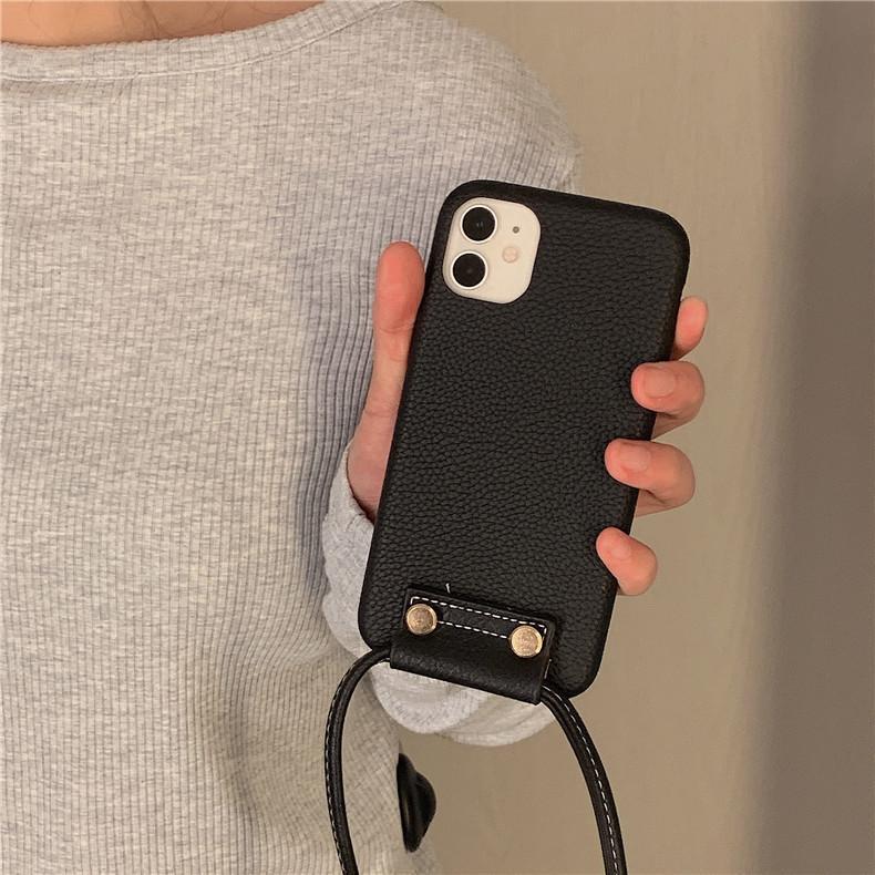 スマホケース カバー iphone12 Pro Max 首掛け 合皮 アイフォン12 iphone11 プロ マックス ストラップ付き 落下防止 カバー|z-fashion|07