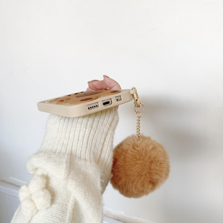 スマホケース シリコン iPhone ケース 立体柄 クマ かわいい おしゃれ アイフォン iphone12 Pro Max iPhone11pro ケース iPhoneXR ケース カバー|z-fashion|05