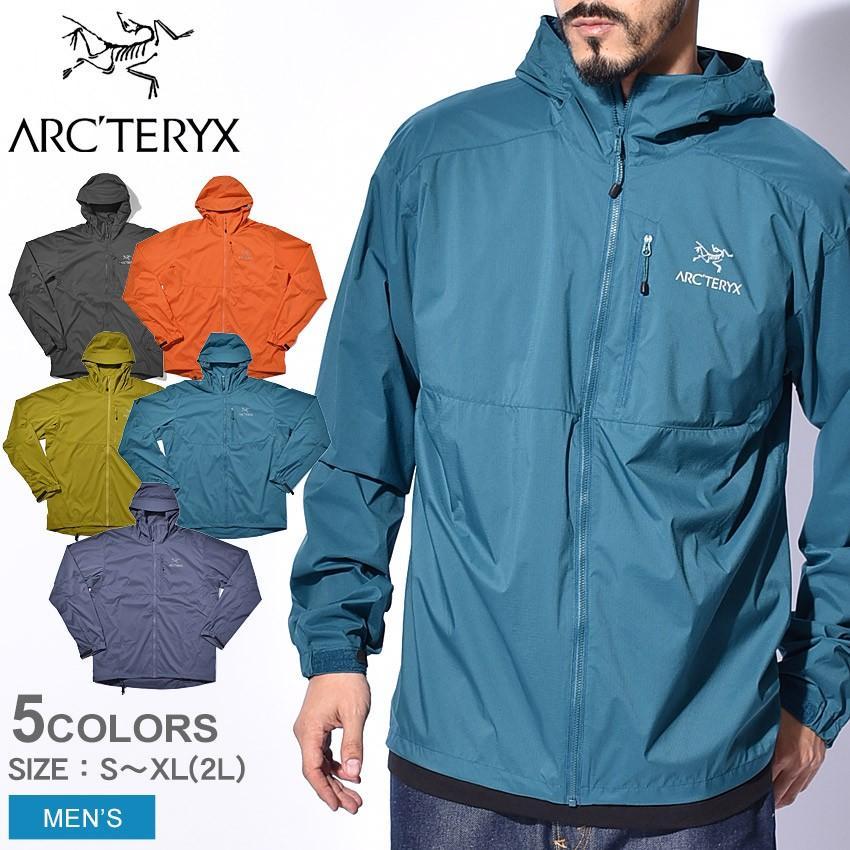 アークテリクス ジャケット メンズ アウター ブランド アルペン フード ジップアップ トレッキング 登山 長袖 防寒 防水 防風 ARC'TERYX 13647