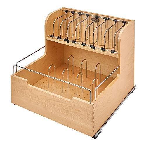 rev-a-shelf 4?fsco-24sc-1食品ストレージコンテナオーガナイザー、自然 z-selection 01