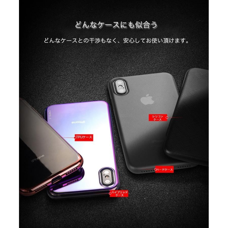 iPhoneX 背面保護 ガラスフィルム 9H硬度 透明 アイフォンx 保護フィルム 背面 クリア 強化ガラス 耐衝撃 ラウンドエッジ 指紋防止 0.3mm 超薄型 衝撃吸収|zacca-15|11