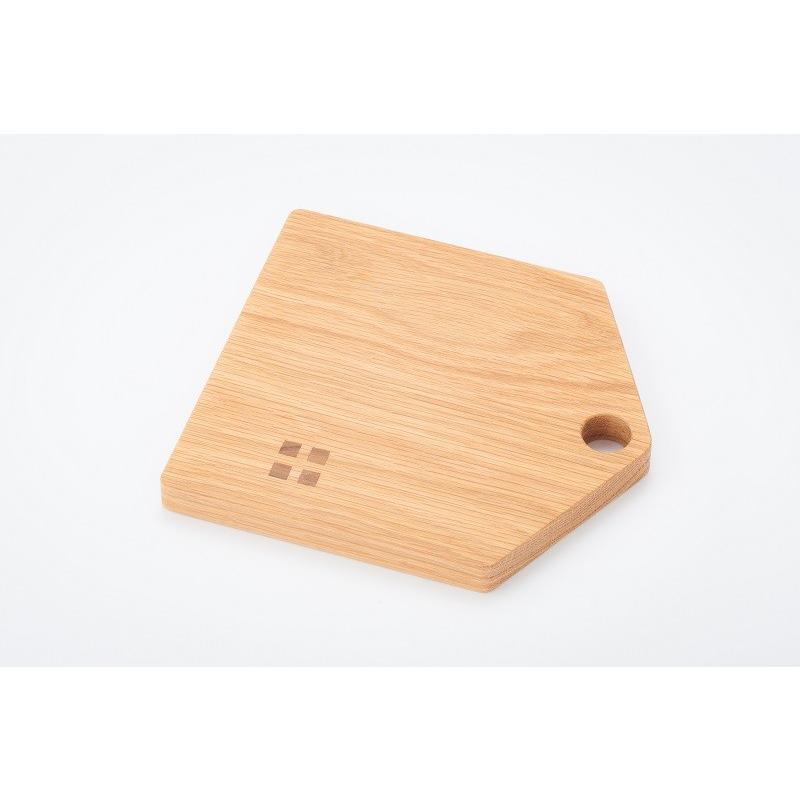 カッティングボード(Mサイズ)木 お皿 トレイ まな板 ナラ材 zaccan-shop 04