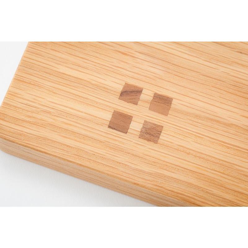 カッティングボード(Mサイズ)木 お皿 トレイ まな板 ナラ材 zaccan-shop 05