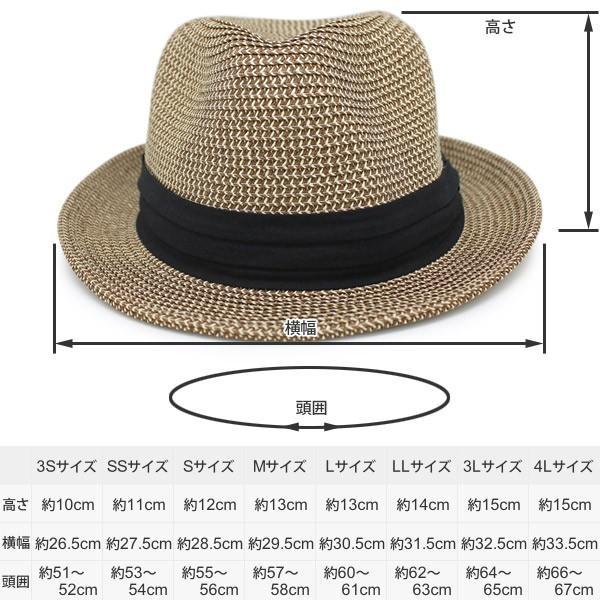 麦わら帽子 メンズ 大きいサイズ レディース 折りたたみ ペーパーハット 春夏|zaction|21