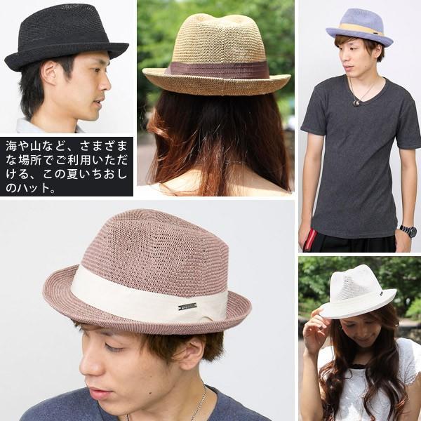 ハット 夏 麦わら帽子 メンズ|zaction|09