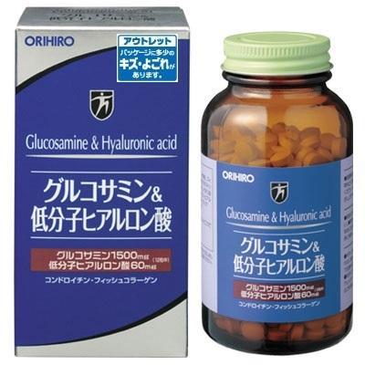 数量限定 オリヒロ グルコサミンamp;低分子ヒアルロン酸 開店祝い 108g 約432粒 賞味期限:2021年12月18日まで 今ダケ送料無料 アウトレット