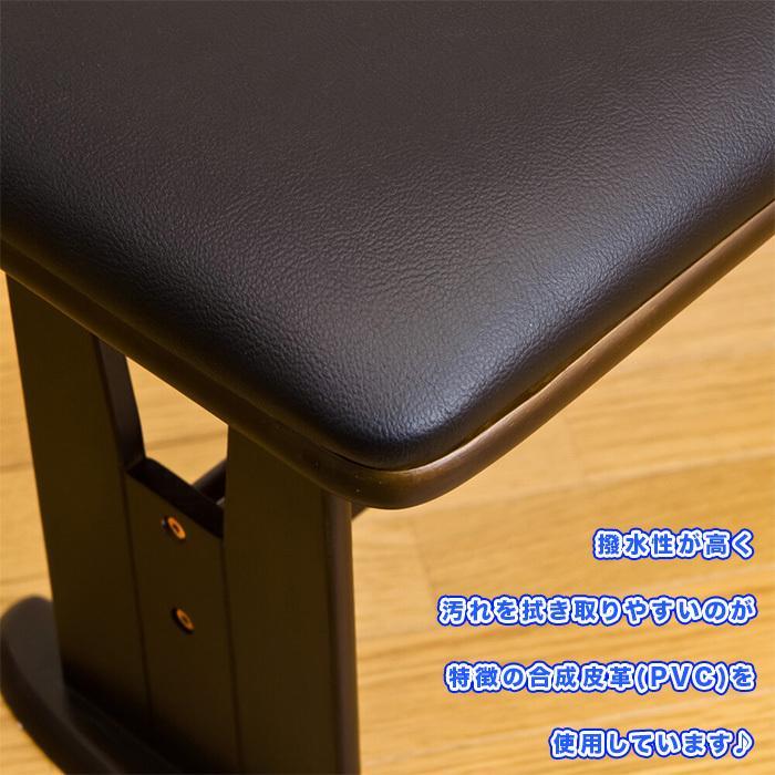 北欧風 ダイニングベンチ 幅106cm ベンチチェア シンプル 食卓ベンチ 食卓椅子 長椅子 ベンチチェアー 天然木製 zak-kagu 03