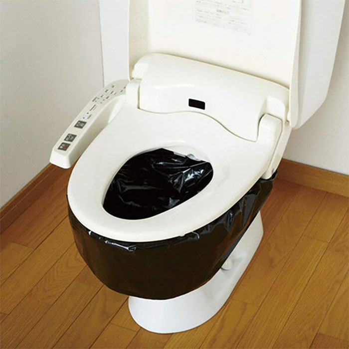 簡易トイレ 凝固剤 汚物袋 処理袋 セット 防災アイテム アウトドア 旅行 携帯トイレ 車載用トイレ 10回分 ♪|zak-kagu|04