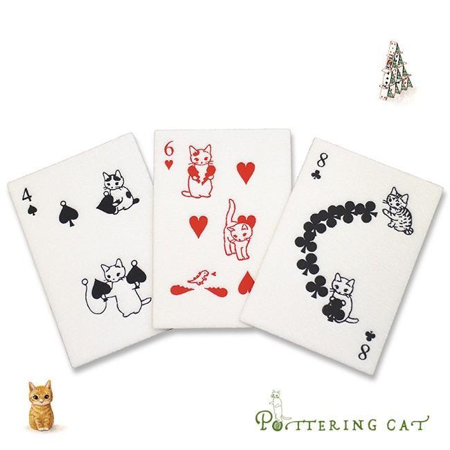 即納 ポタリングキャット トランプポストカード 3枚セット猫のイラストがかわいい雑貨 おしゃれなデザインのポストカード ねこ雑貨 Ho490 3abc雑貨のねこや 通販 Yahooショッピング
