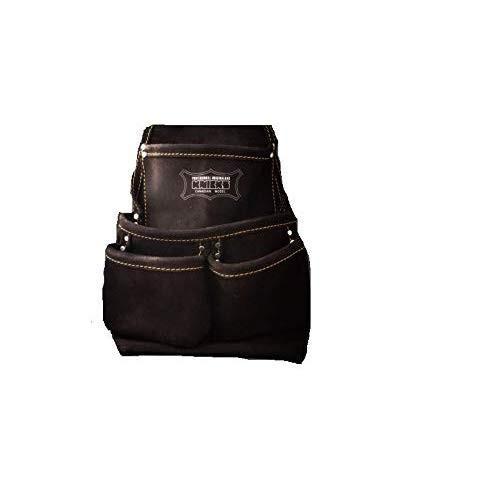 ニックス(NIX) 2ポケット2×2工法用釘袋(スエード生地) 2ポケット2×2工法用釘袋(スエード生地) 2ポケット2×2工法用釘袋(スエード生地) ブラック KCA-7501B 925
