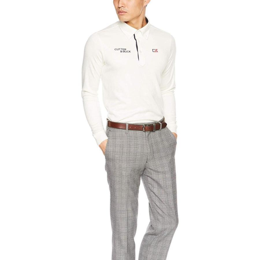 カッターアンドバック 長袖シャツ CGMMJB10 メンズ WH00(ホワイト) 日本 M (日本サイズM相当)