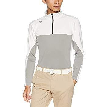 デサントゴルフ 長袖シャツ DGMMJB15 メンズ WH00(ホワイト) 日本 L (日本サイズL相当)