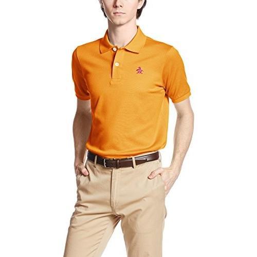 マンシングウェア ゴルフ シャツ XSG1600A メンズ A629オレンジ 日本 L-(日本サイズL相当)