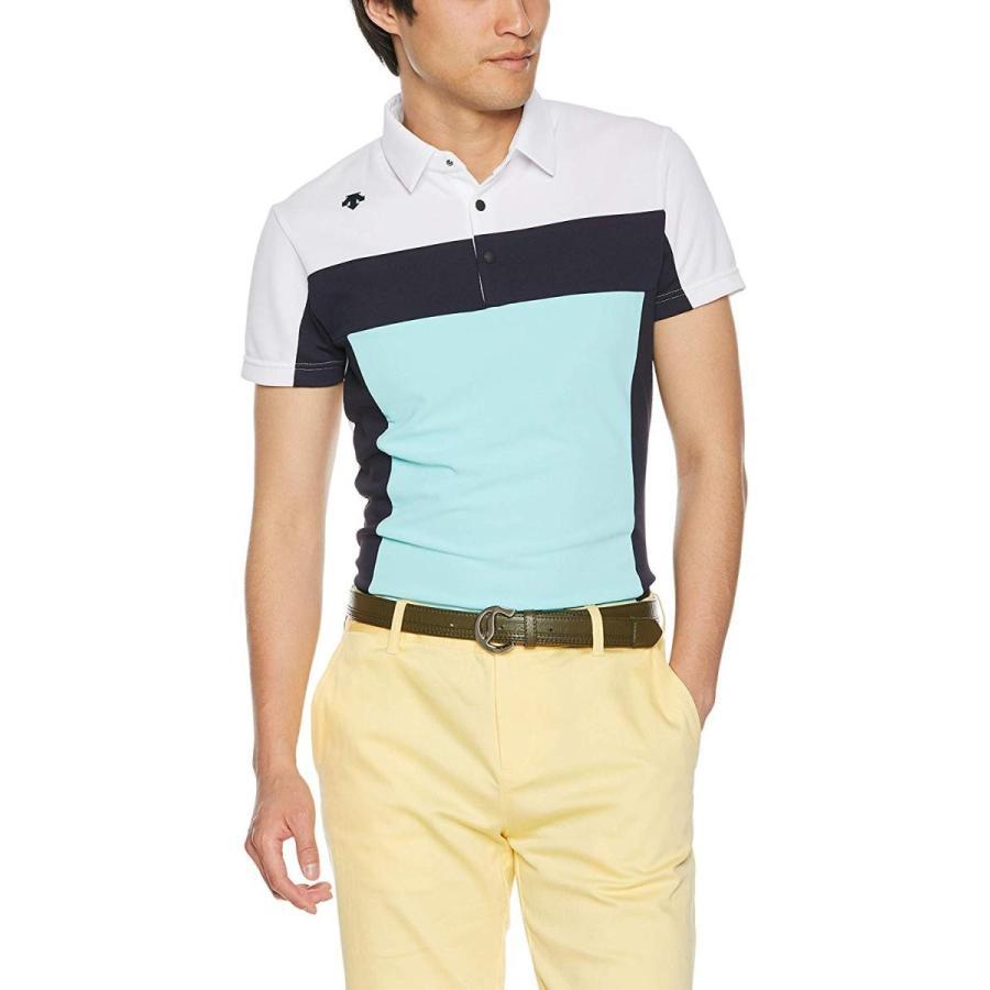 デサントゴルフ 半袖シャツ DGMNJA30 メンズ WH00(ホワイト) 日本 L (日本サイズL相当)