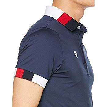 2019人気新作 アドミラル ゴルフ ポロシャツ ADMA903、トリコロール襟 メンズ ポロシャツ ADMA903 30NVY 日本 ゴルフ アドミラル L (日本サイズL相当), [定休日以外毎日出荷中]:2af30cd6 --- airmodconsu.dominiotemporario.com