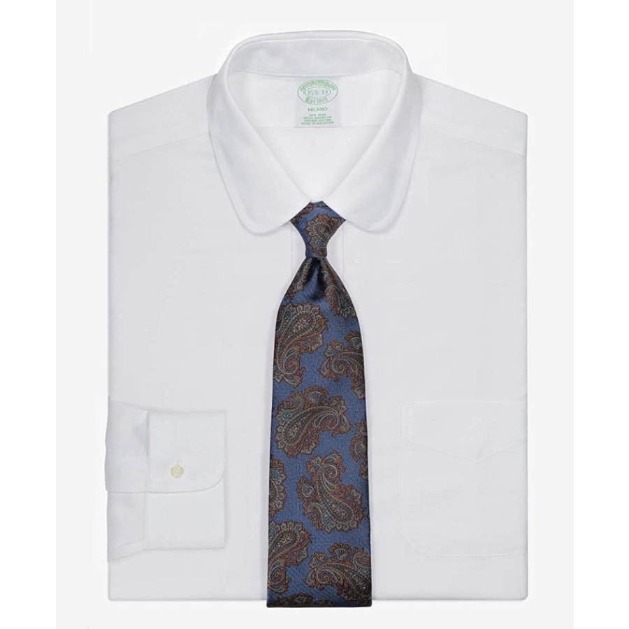 Brooks Brothers(ブルックス ブラザーズ)SS19オンライン限定ノンアイロン ブルックスクール ゴルフカラー ドレスシャツ M