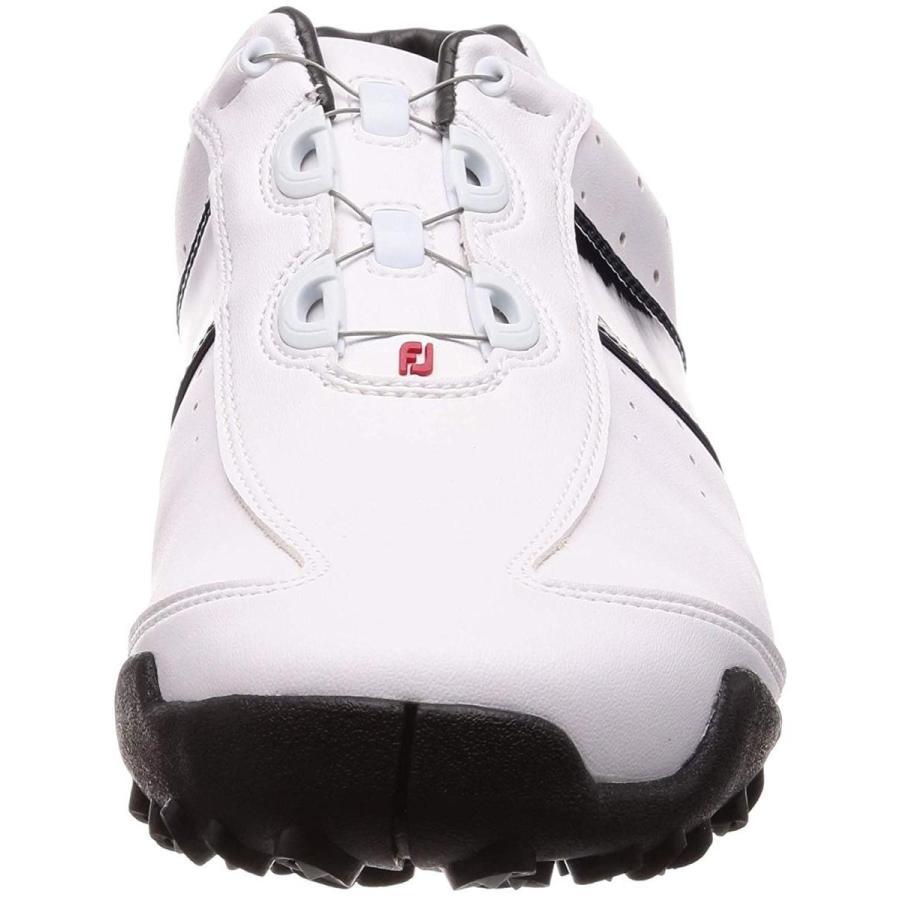 フットジョイ ゴルフシューズ EXL SPIKELESS Boa メンズ ホワイト/ネイビー(18) 26.5 cm