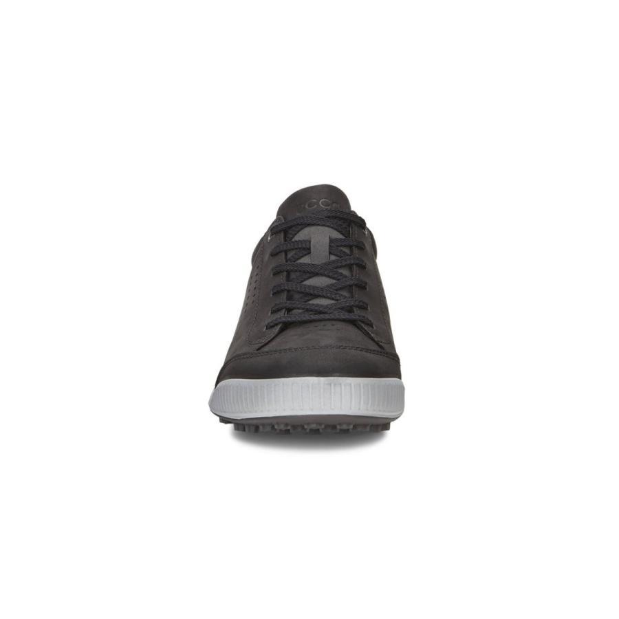 人気 エコー ゴルフシューズ GOLF STREET RETRO メンズ BLACK/BLACK 28.5cm, みとこんぼでぃ 0cb39f81