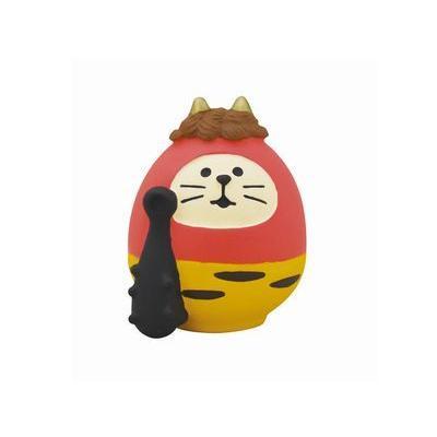 DECOLE concombre 鬼猫だるま 赤鬼 zakkahibinene