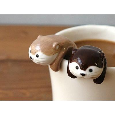 DECOLE KAWAUSO CAFE カワウソスプーン|zakkahibinene
