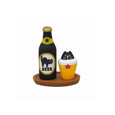 DECOLE concombre 黒猫印ビールセット zakkahibinene