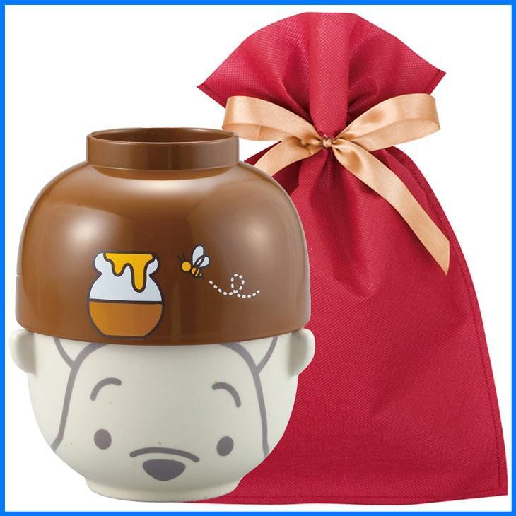 ディズニー汁椀茶碗(大) ギフトセット くまのプーさんハニーポット【L】【F】 茶碗 ディズニー ごはん茶碗 食器セット プレゼント ギフト ラッピング込み zakkayafree