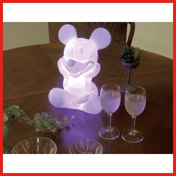 送料無料 LEDインテリアライト(ミッキー) ディズニー 玄関 テーブル フロア フロア フロア かわいい プレゼント d0a